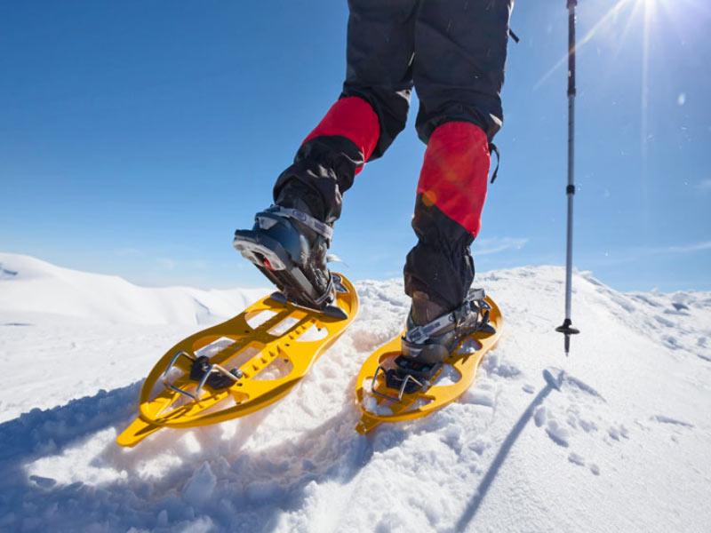 ciaspole da neve quali sono i migliori percorsi